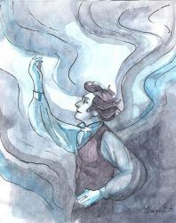 Another magician by YamiEA