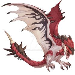 Monster Hunter - Rathalos by AbelPhee