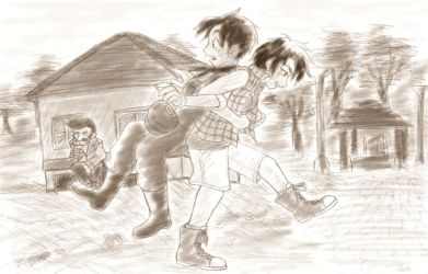 Harvest Moon - Jack and Nami (5) by DontStopDream