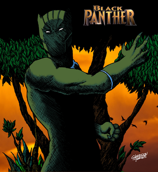 Black Panther by GlaydsonGomes