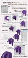 Shiny Fabric Tutorial by ZellyKat