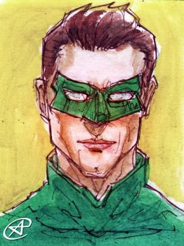 Green Lantern by photon-nmo