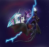 MLP: Emerald Fires Cover: Redemption(Colorized) by folklore17