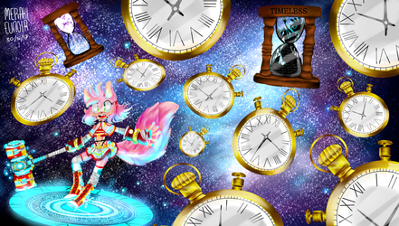 Amy the time travelling wolf by MerakiEunoia