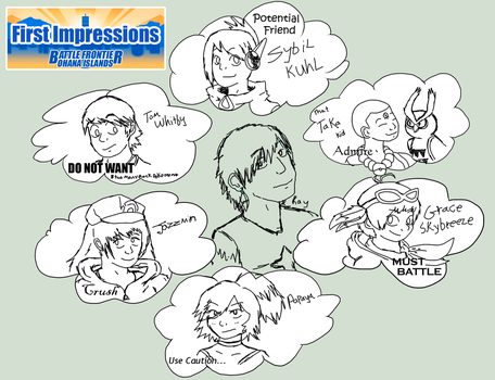 Ray - First Impression Meme by Chari-Artist