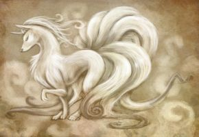 Ninetales by Sleepwalks