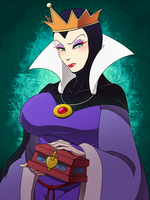 Evil Queen. by r0cco-lotteria