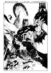 Batman #2 Cover Inking by VincentDorian
