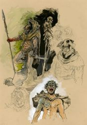 Berserkers by lionelmarty