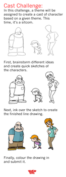 Design-A-Character - Cast Challenge Example by HipnikDragomir