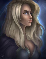I'm still strong...-Jaina Proudmoore by Mythicalpalette