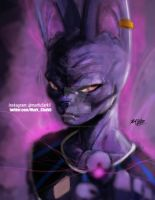 Beerus-bust by Mark-Clark-II