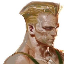 Guile form Street Fighter by antoniodeluca