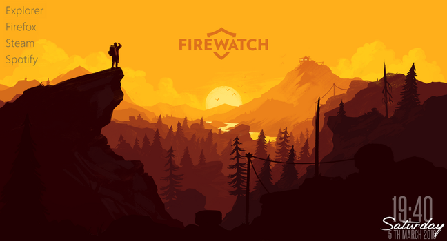Firewatch Parallax Theme 1.0.0 by TheFawxyOne