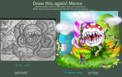 Draw this again! by Ninten6412XD