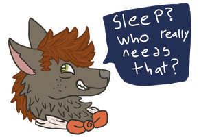 Sleep? by Zulite