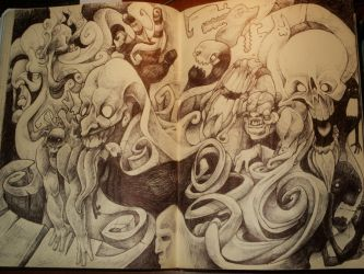 ballpoint madness part ll by robiant