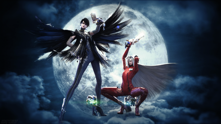 Bayonetta 2 render Wallpaper by ArRoW-4-U