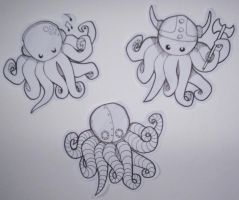 Octopuses by 187925
