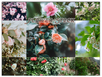 [160707 ] FLOWERS-STOCK #1 (updated) by SananiG