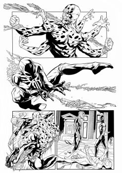 Spiderman2099 Balbi Pencil Inker Sandro Ribeiro by Sandrotrs