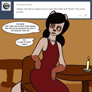 Ask Pepper: Blind Dates by pikachao-omega