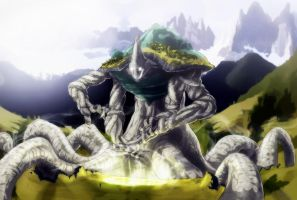 The Bringer - Earth Colossus by Namh
