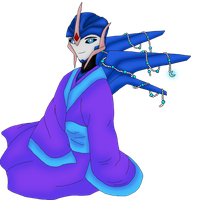 Art Trade: Arcee by Crystal-Rosewing