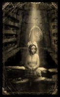 Catacombs-Victorian- Sepia by asunder