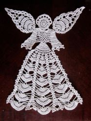 Angel Doily by PamGabriel