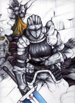 Demons Souls Pure Black World by TIMISDEATH2ALL