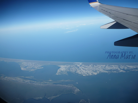 Flying over the Sea by AnnaM157