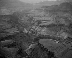Grand Canyon BW by fuego316