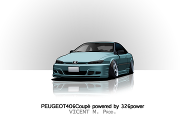 Peugeot 406 Coupe powered by 326power by VicentMAutoworks
