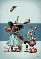 Character Design Challenge - Wizards and Witches by Syrphin
