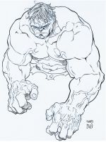 Timothy Green's Hulk 1 by dubbery