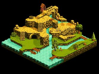 Another isometric landscape no.5 by Fidorka69