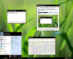 Windows XP Basic Black by 0J3