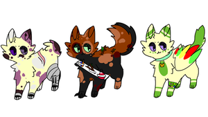 Cat Adopts (open) by Redpandaseas