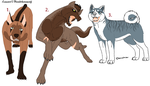 Ginga Adoptables 3 by cyanidecat