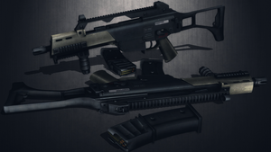 [MMD] Heckler and Koch G36C for DL by AbyssLeo