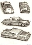 Buick sketch by strickart
