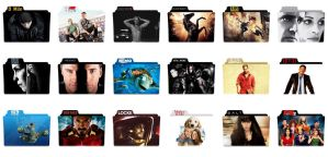 602 Movies Folder Icon Ultra Pack by Malamadre by Resines