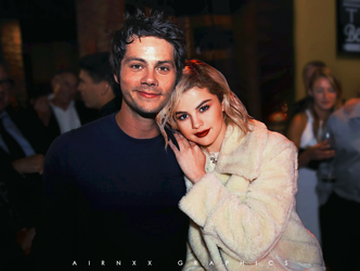 Dylan O'Brien and Selena Gomez | Manip. by airnxx