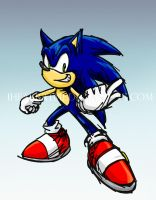 Sonic Pose by ihearrrtme