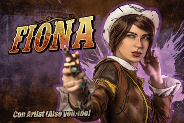 Fiona - Tales from the Borderlands cosplay by LuckyStrikeCosplay