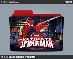 Ultimate Spider-man Folder ICON by kasbandi