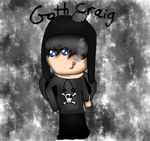 AT with This-is-an-outrage: Goth Craig by Hallerpl