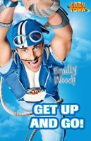 Get up and Go Sportacus by emillywood