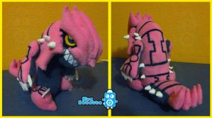 Pink Groudon by BlueRobotto